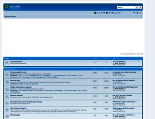 forum.ultravnc.net screenshot