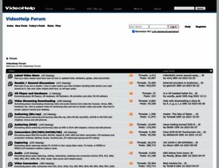 forum.videohelp.com screenshot