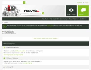 forum.vmgmedia.vn screenshot