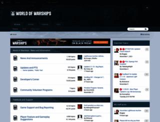 forum.worldofwarships.com screenshot