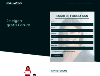 forum2go.nl screenshot