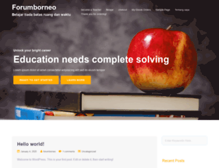 forumborneo.net screenshot