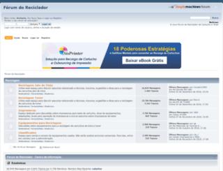 forumdoreciclador.com.br screenshot