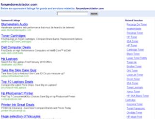 forumdoreciclador.com screenshot
