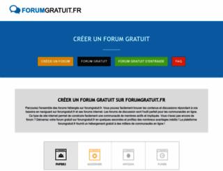 forumgratuit.fr screenshot
