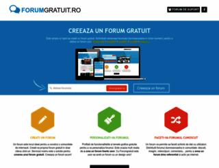 forumgratuit.ro screenshot