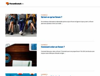 forumgratuit.tv screenshot