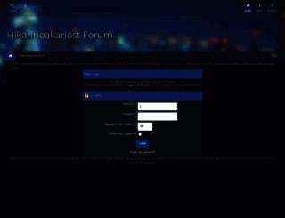 forumhikarinoakariost.info screenshot