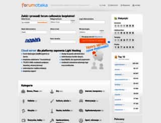 forumoteka.pl screenshot