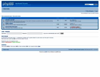 forums.aardvark.co.nz screenshot