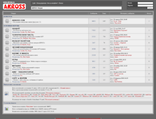 forums.akross.ru screenshot