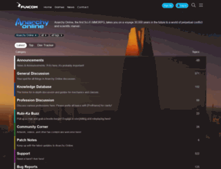 forums.anarchyonline.com screenshot
