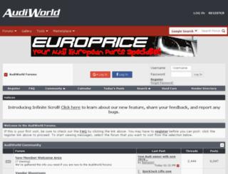forums.audiworld.com screenshot