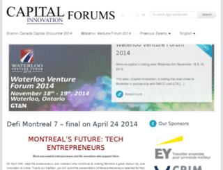forums.capitalinnovation.ca screenshot