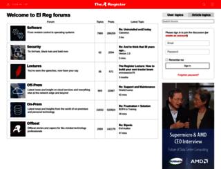 forums.channelregister.co.uk screenshot