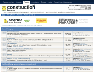 forums.constructionnet.co.uk screenshot