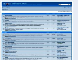 forums.devnetwork.net screenshot