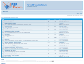 forums.forex-strategies-revealed.com screenshot
