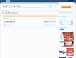 forums.freestufftimes.com screenshot