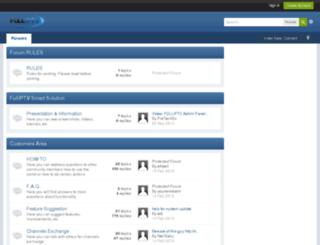 forums.fulliptv.com screenshot