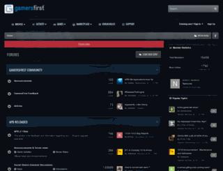 forums.gamersfirst.com screenshot