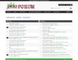 forums.jackssmallengines.com screenshot