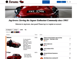 forums.jag-lovers.org screenshot