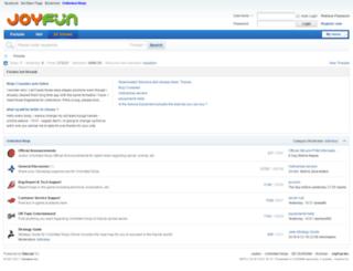 forums.joyfun.com screenshot
