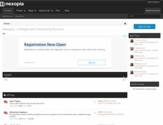 forums.nexopia.com screenshot