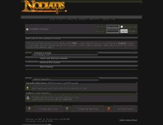 forums.nodiatis.com screenshot