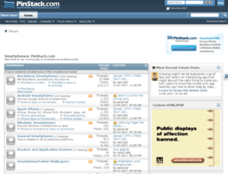 forums.pinstack.com screenshot