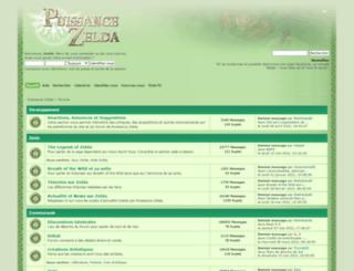 forums.puissance-zelda.com screenshot