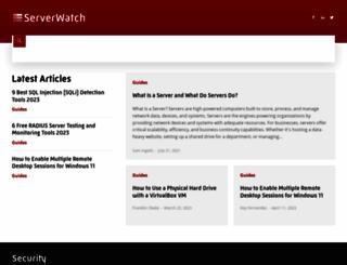 forums.serverwatch.com screenshot