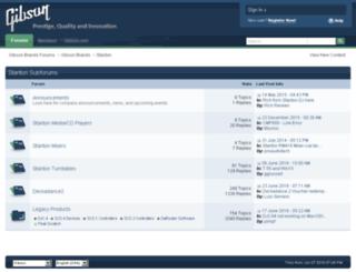 forums.stantondj.com screenshot