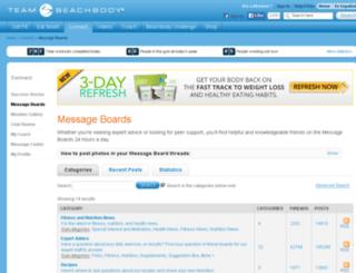 forums.teambeachbody.com screenshot