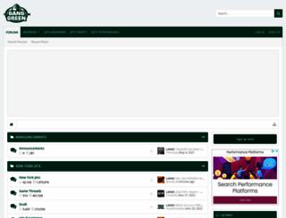 forums.theganggreen.com screenshot
