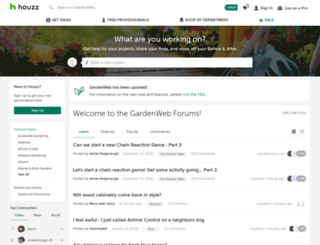 forums2.gardenweb.com screenshot