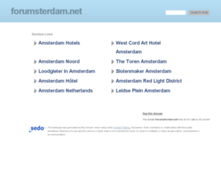 forumsterdam.net screenshot
