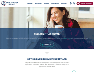 forwardbank.com screenshot
