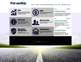 forwardup.de screenshot