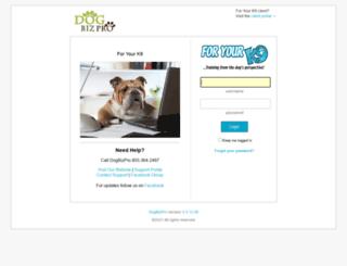 foryourk9.dogbizpro.com screenshot