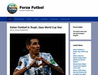 forzafutbol.com screenshot