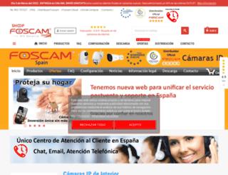 foscam.es screenshot