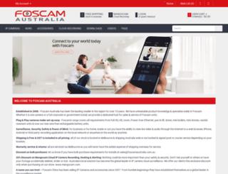 foscamaustralia.com.au screenshot