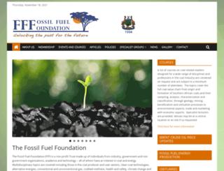fossilfuel.co.za screenshot