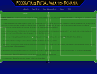fotbal-valah.ro screenshot