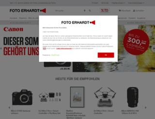 foto-erhardt.de screenshot