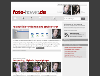 foto-howto.de screenshot