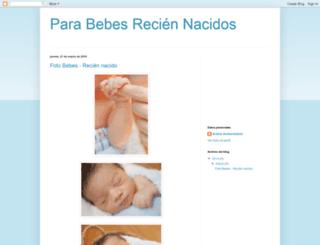 fotobebereciennacido.blogspot.com screenshot