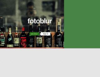 fotoblur.com screenshot